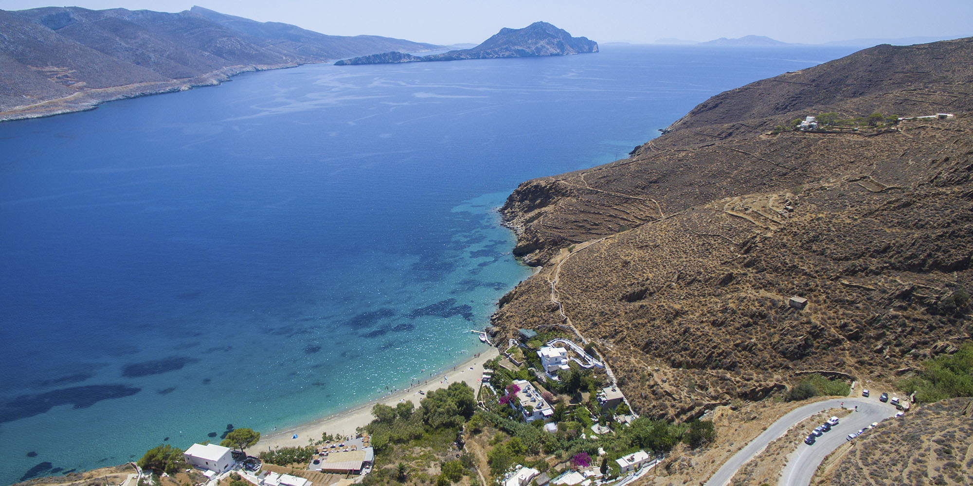 How to get to Levrossos Beach Apartments on Amorgos
