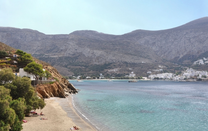 Levrossos Beach Amorgos Greece