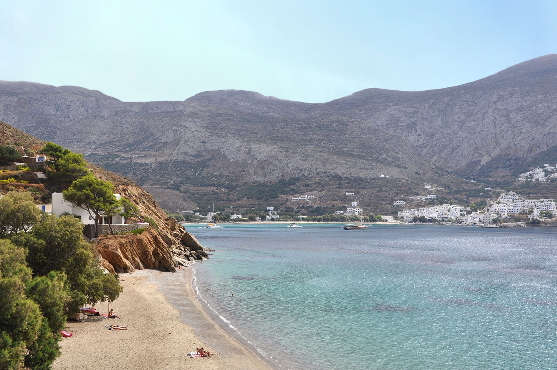 Levrossos Beach Amorgos Greece