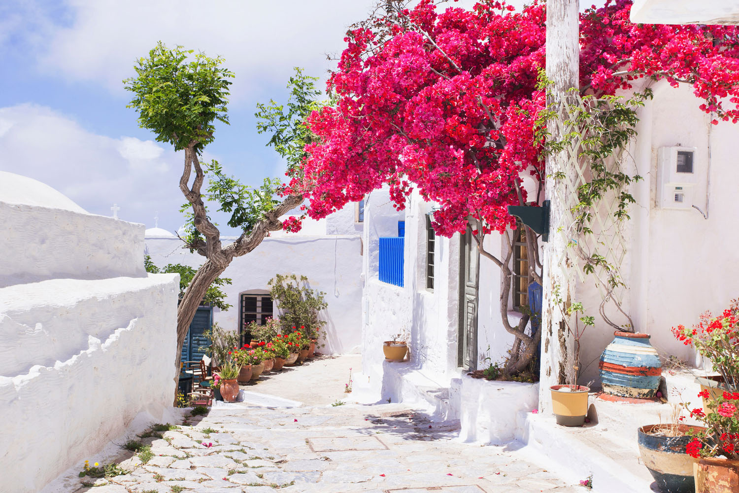 Alley on Amorgos