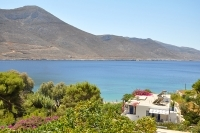 Location Levrossos beach apartments Amorgos