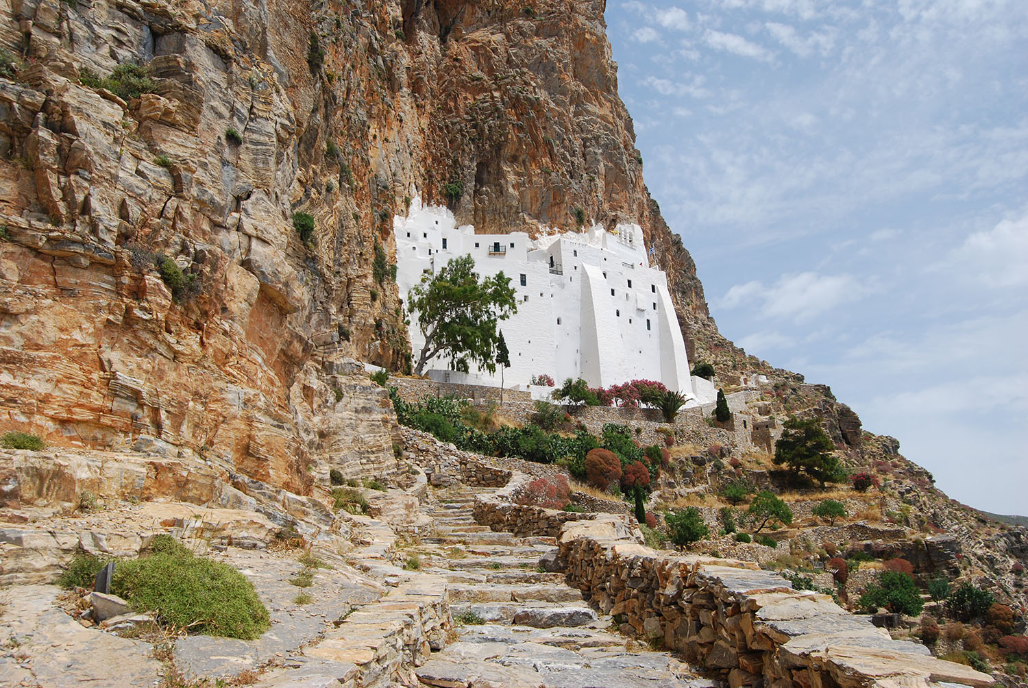 The Monastery of Hozoviotissa