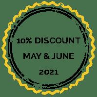 Discount 10% 2021